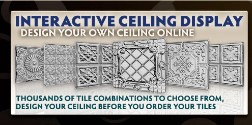 Tin Ceilings Interactive Design Tool