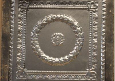 Antiqued Panel in picture frame 2