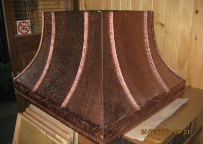Antique Copper Hood Range