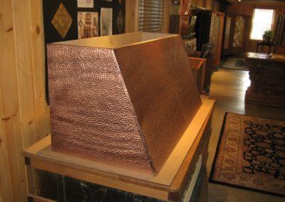 Antique Copper Hood Range (2)